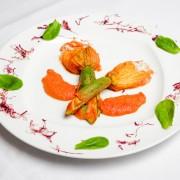Antipastiteller mit Gemüse