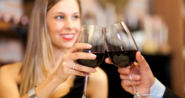 Genießen Sie ausgewählte Weine im Sole Mio