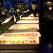 Warmes Buffet vom Sole Mio Partyservice