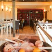 Restaurant im Landhausstil: Obere Etage des Leipziger Sole Mio