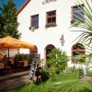 Der Italiener Sole Mio Leipzig mit schmucker Landhausfassade